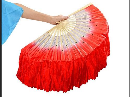 Adult's Dance Fan-Red