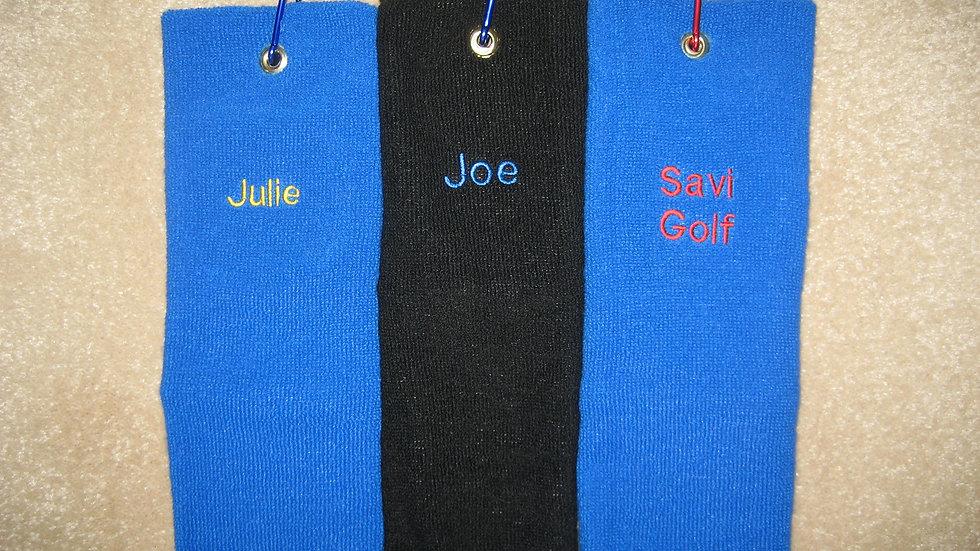Personalized Savi Tubular Towel