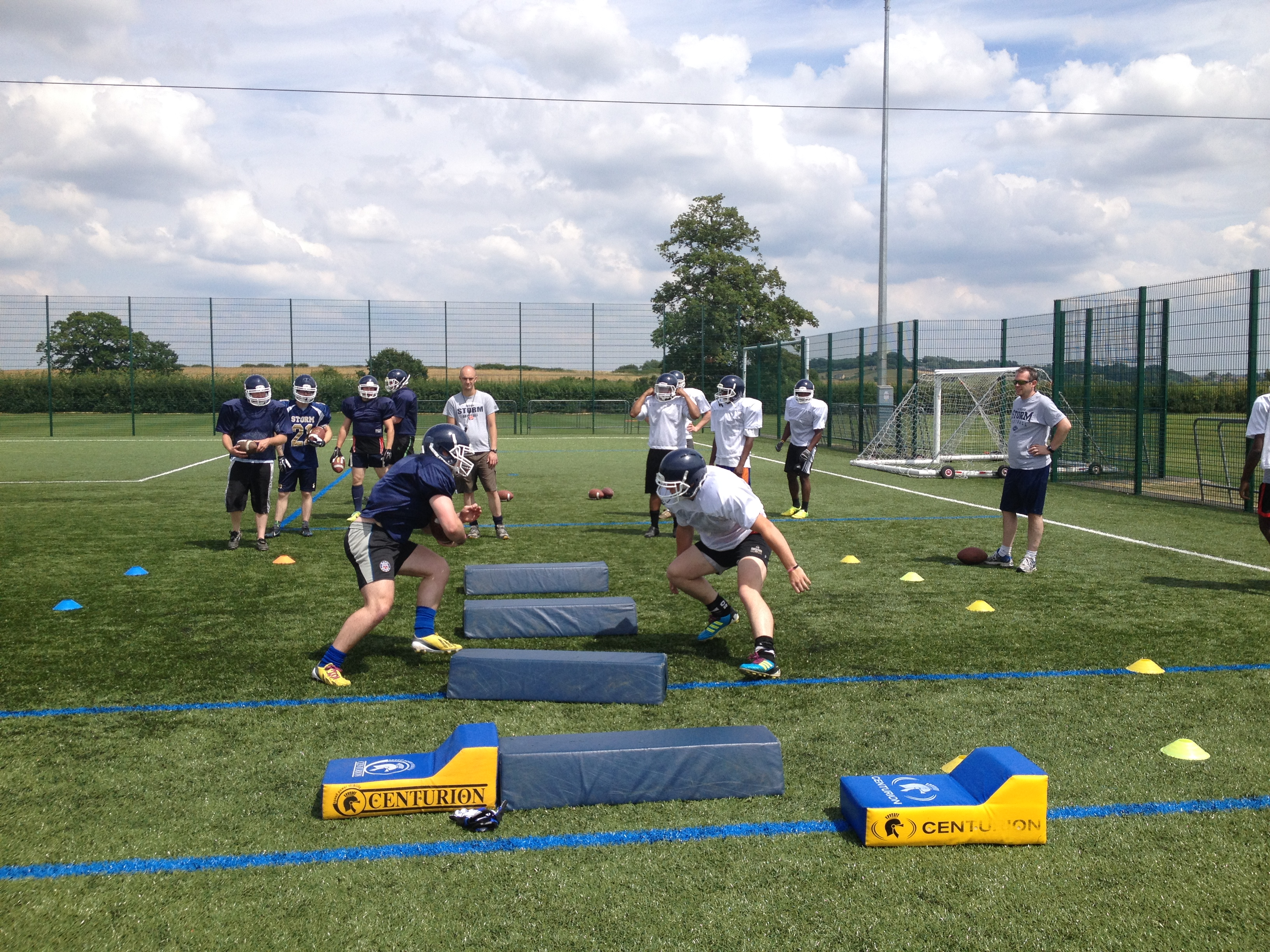 Offence v Defence Drill