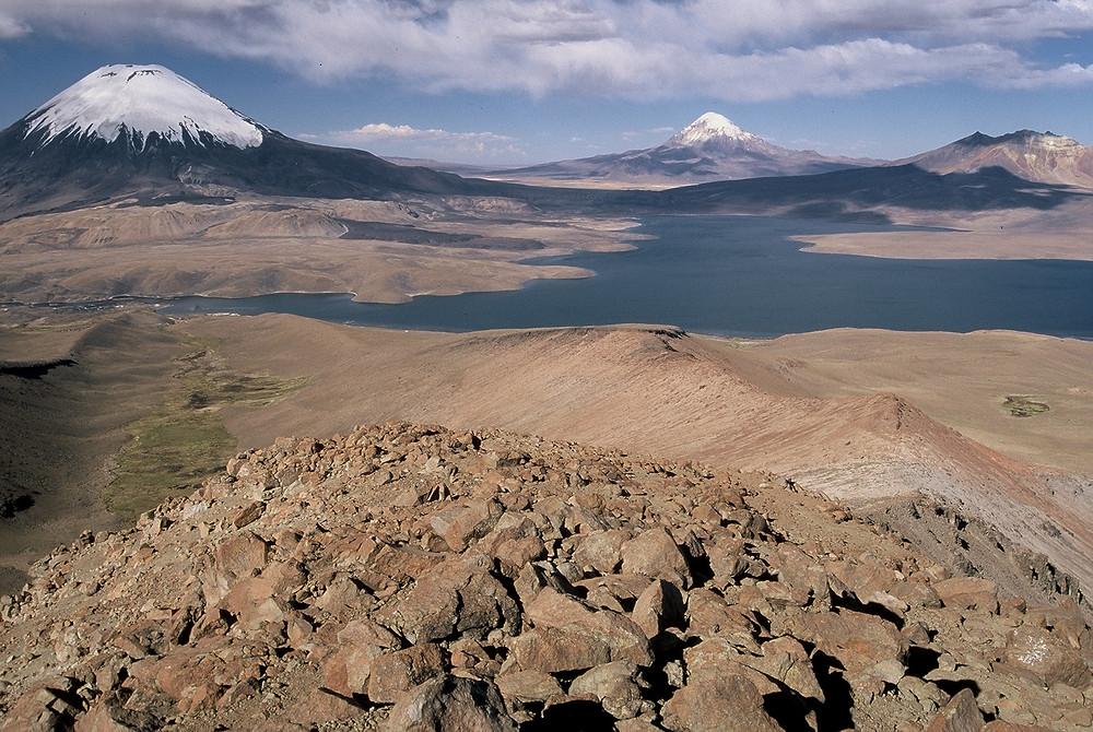 mountaineering expedition Parinacota