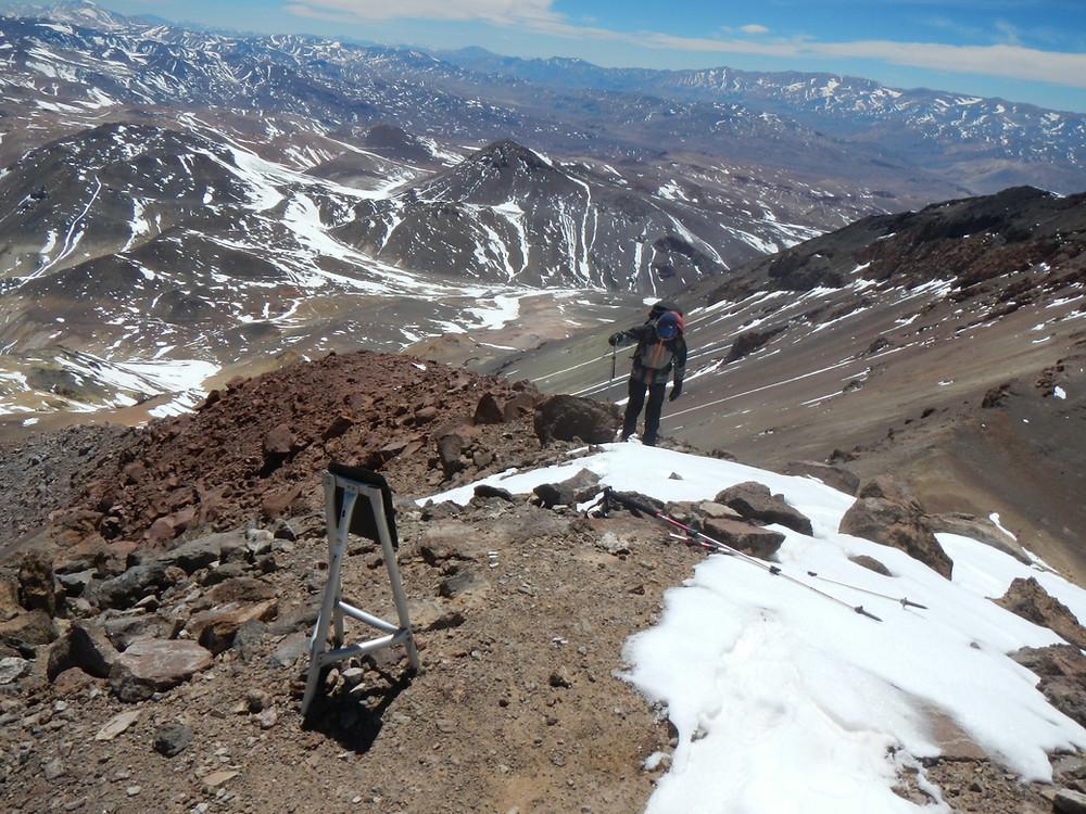 Expedicion al cerro Las Tortolas con los Guías de URQU montaña