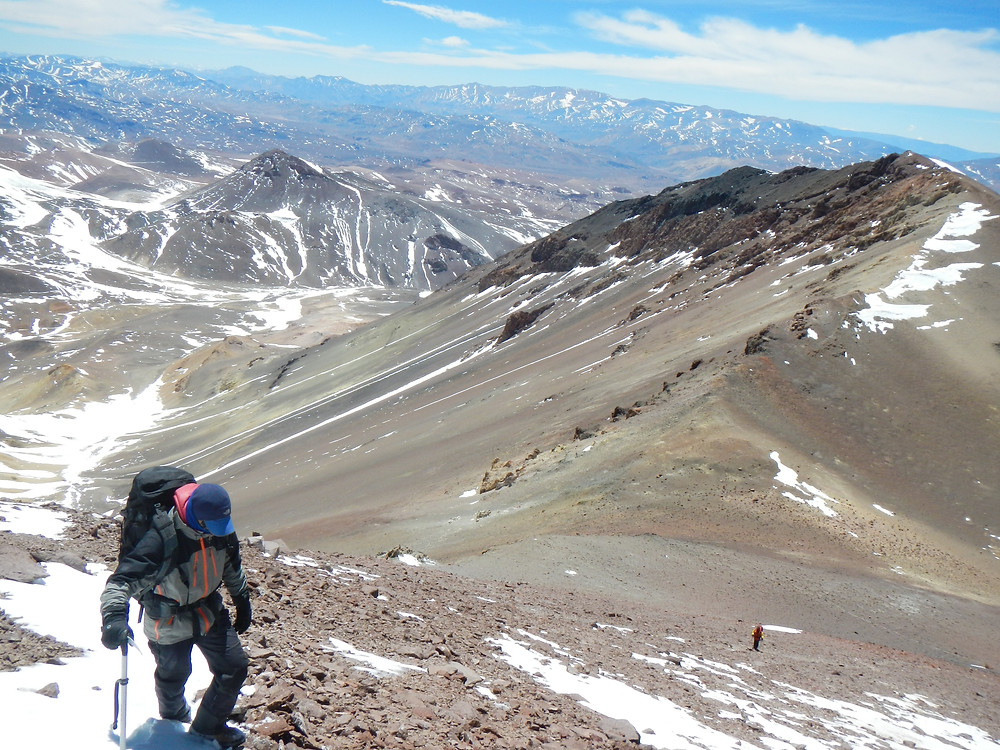 Expedicion al cerro Tortolas con los Guias de URQU montaña