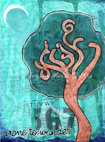 Title: Prone to Wander | Original | $39