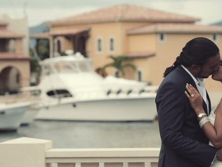 Manisha and Tariq's Wedding                  in St-Maarten
