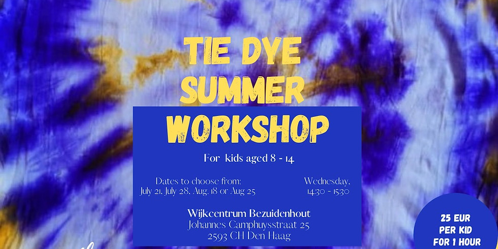 Tie dye Summer Workshop (1)