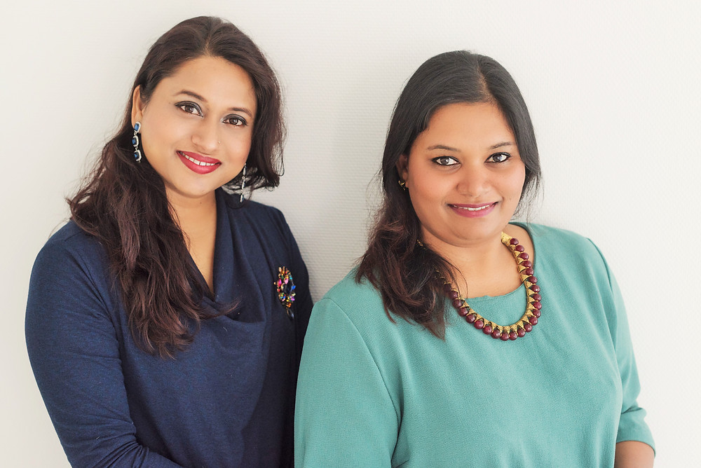 Deepti and Veena: Chai and Soap making partners