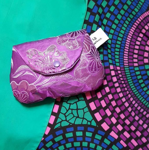 Colouful Blends with unique patterned fabric with a matching Upcycle Gelebag
