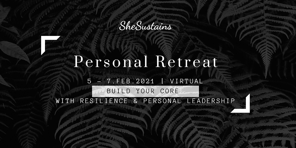 SheSustains Personal Retreat