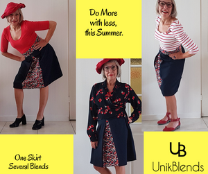 Erica, Created Classic Vintage looks with her UnikSkirt