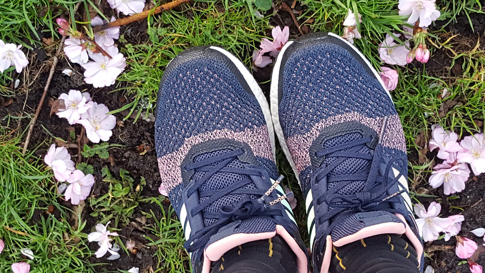 Jogging with the most sustainable gear I could afford: Adidas Ultra Boost