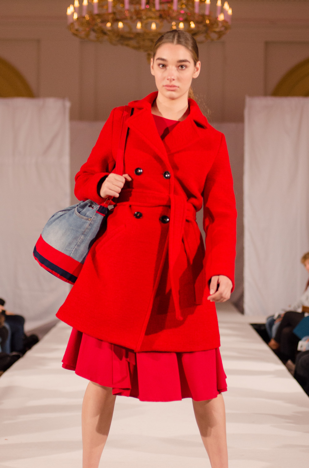 The Upcycle Bucket Bag on the Runway at Fair Fashion, Utrecht