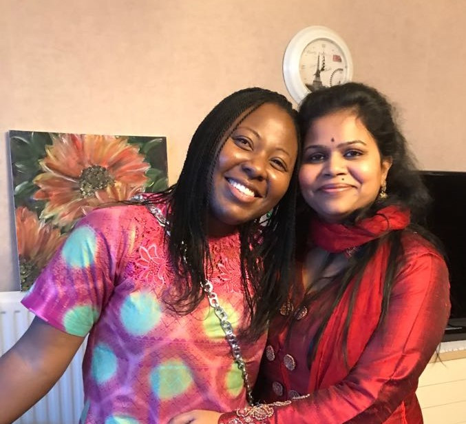 Nasreen and Me: Celebrating her son's birthday at her lovely home