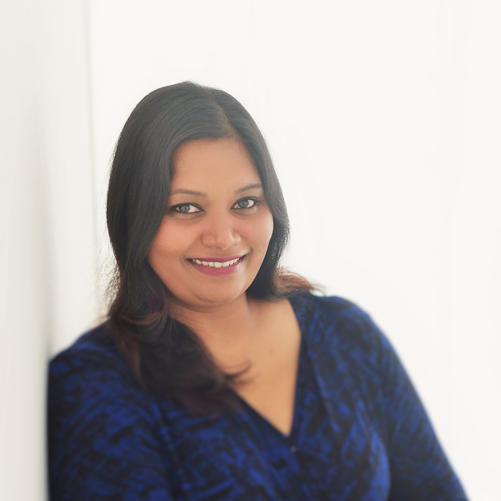 Veena, passionate about supporting others fulfill their dreams