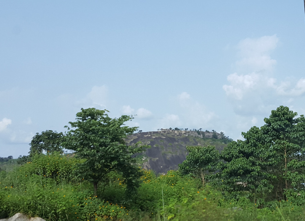 One of the mountains that surrounds our alma mater