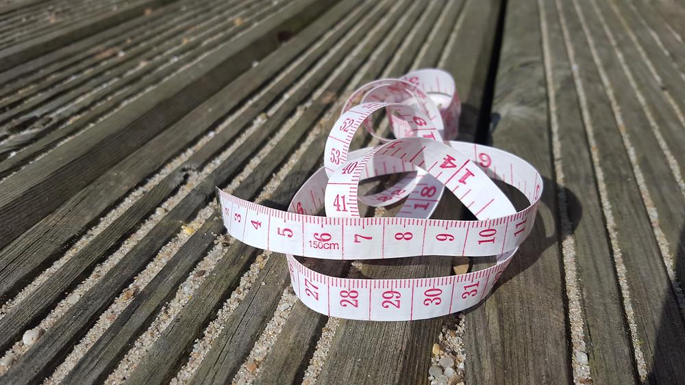 Body Measurement Tape in cm & inches