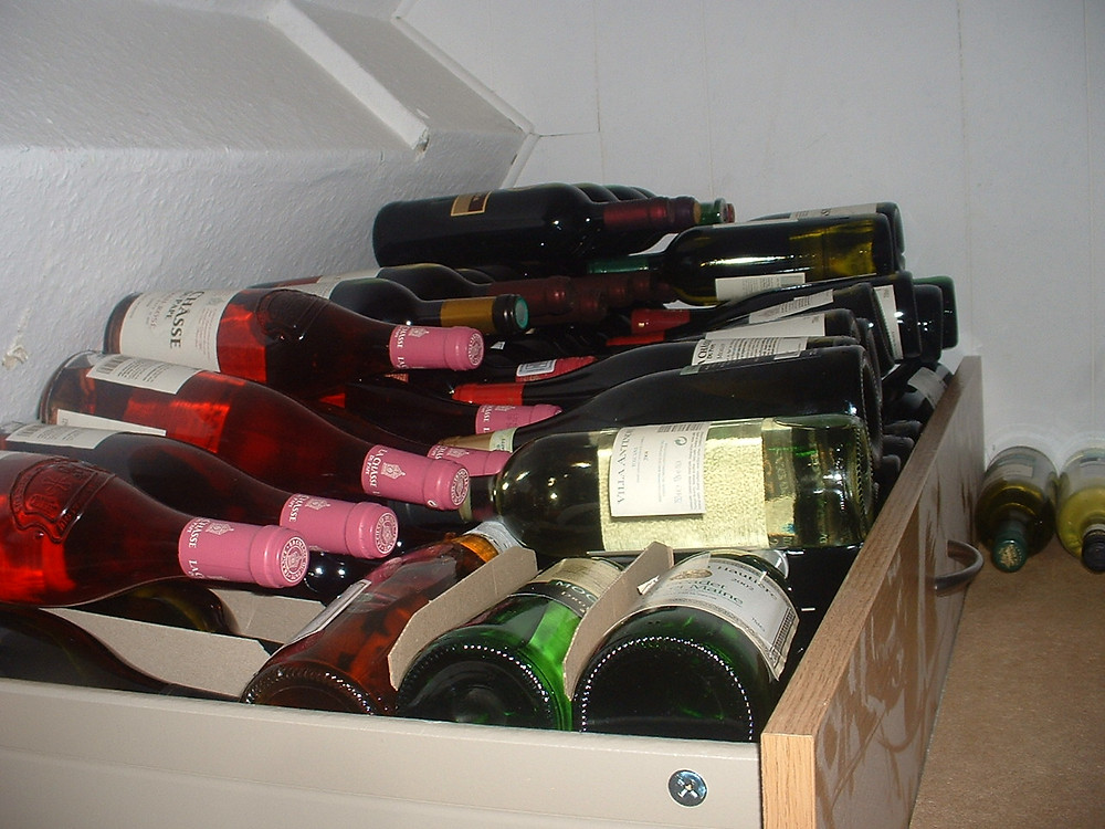 My 100 bottles of wine: 2010 raffle draw 2nd prize