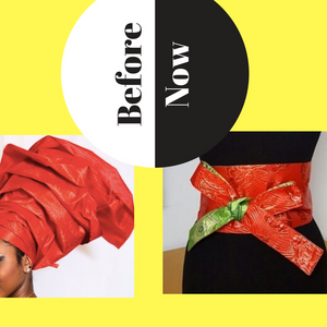 The Repurposed Gele: GeleObiBelt