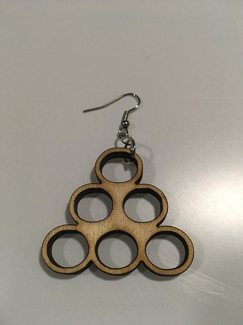 Circle Design Earrings