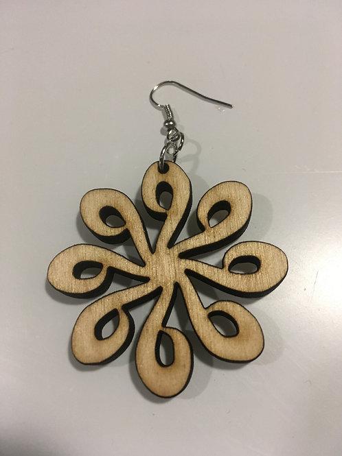 Looped Design Earrings