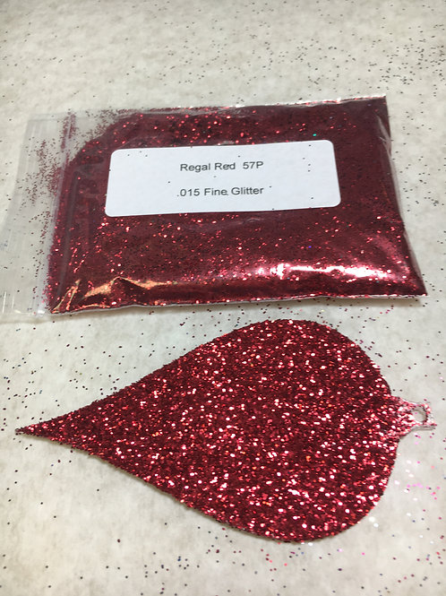 57-P REGAL RED GLITTER