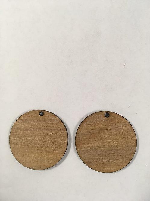 1.5 inch WOOD CIRCLES