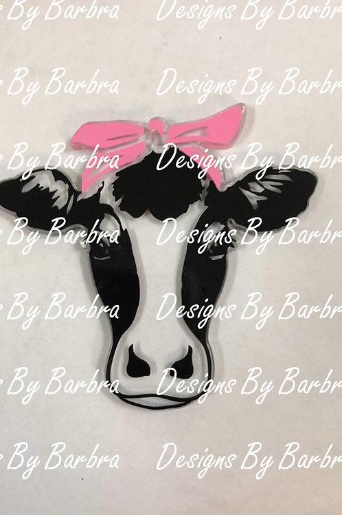 BANDANA COW HEAD