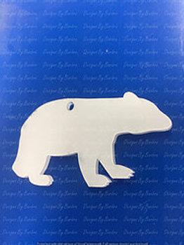 BABY BEAR Keychain blank