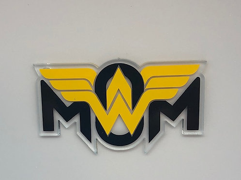WONDER MOM KEYCHAIN BLANK