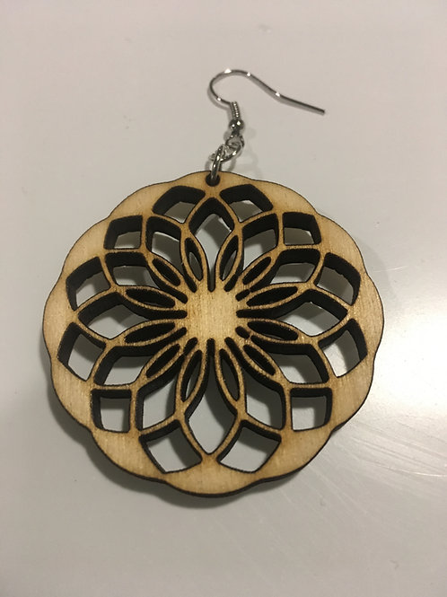 Intricate Design Earrings