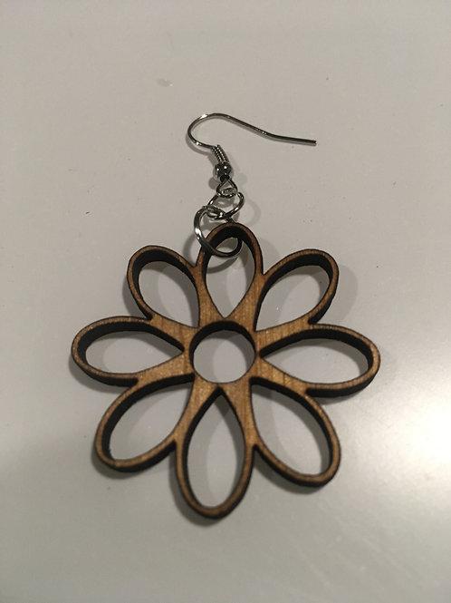 Daisy Design Earrings