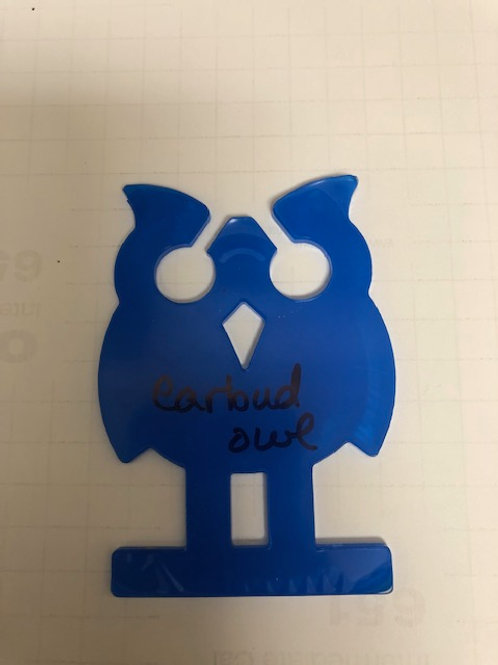 OWL EAR BUD HOLDER