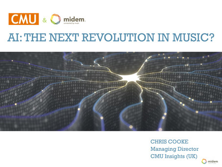 CMU and Midem Brings White Paper on AI in Music