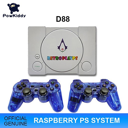 POWKIDDY D88 HDMI Raspberry Pie  Retro Game Console  7000 Games Built in