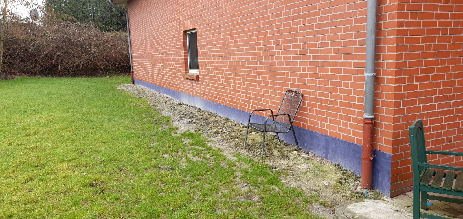Feuchtesanierung Vormauerzeige-Klinker