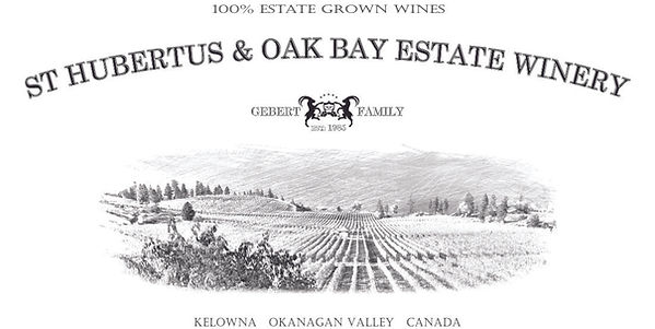 St Hubertus & Oak Bay logo 100% estate g