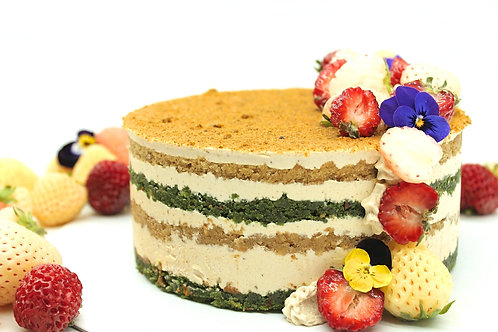 """The Queen"" CBD cake"