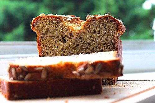 Organic Artisan Gluten free Bread - Sunflower seed