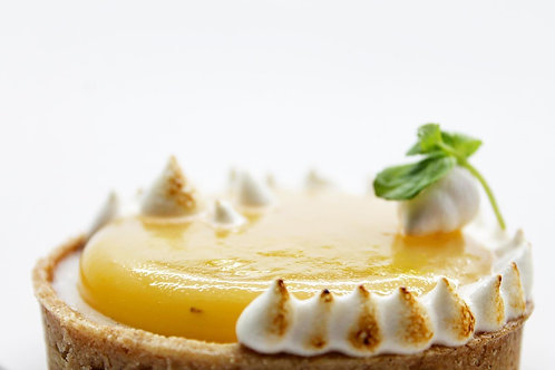 Lemon Meringuée tart