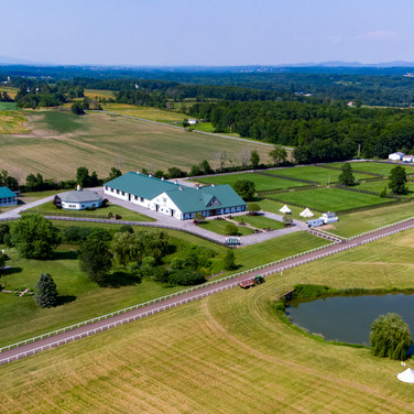 Stone Bridge Farm Arial View