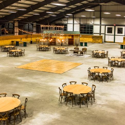 The arena at 125 Sherman Lane