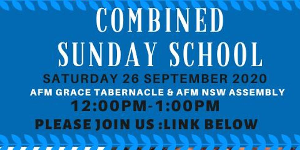 Combined Sunday School