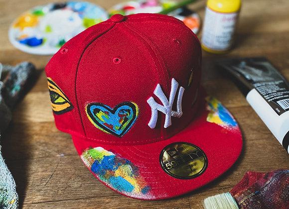 'Eye Love NY' Yankee New Era Custom Fitted