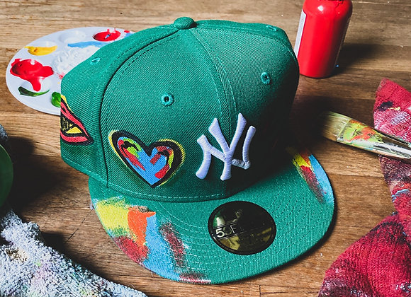 'Eye Love NY' Yankee New Era Custom Fitted