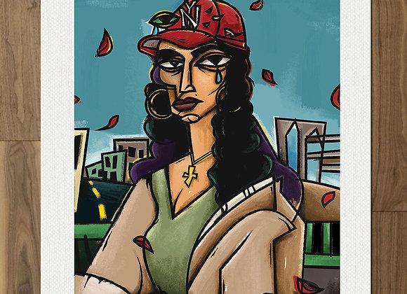 Mona Rosa Loves NY Print (18x24)