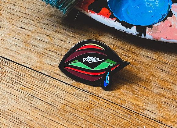 'Eye' Enamel Pin (Red)