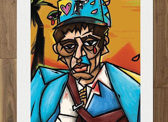 Tony Loves NY Print (18x24)