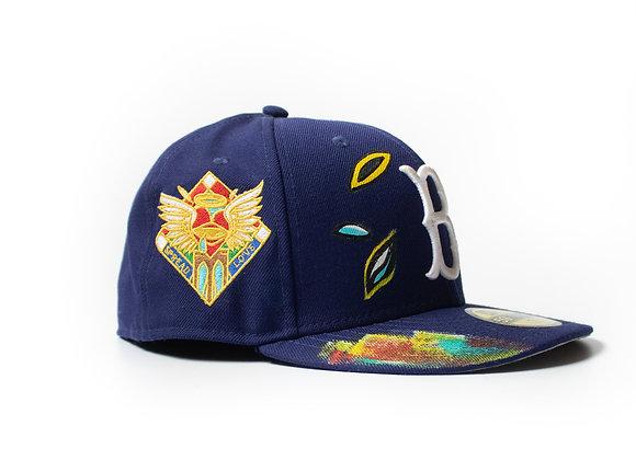 Spread Love Brooklyn Dodgers New Era Custom Fitted