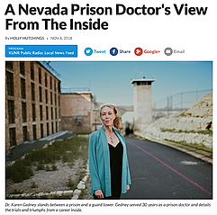 A Nevada Prison Doctor's View From The Inside