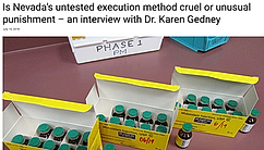 Is Nevada's untested execution method cruel or unusual punishment?