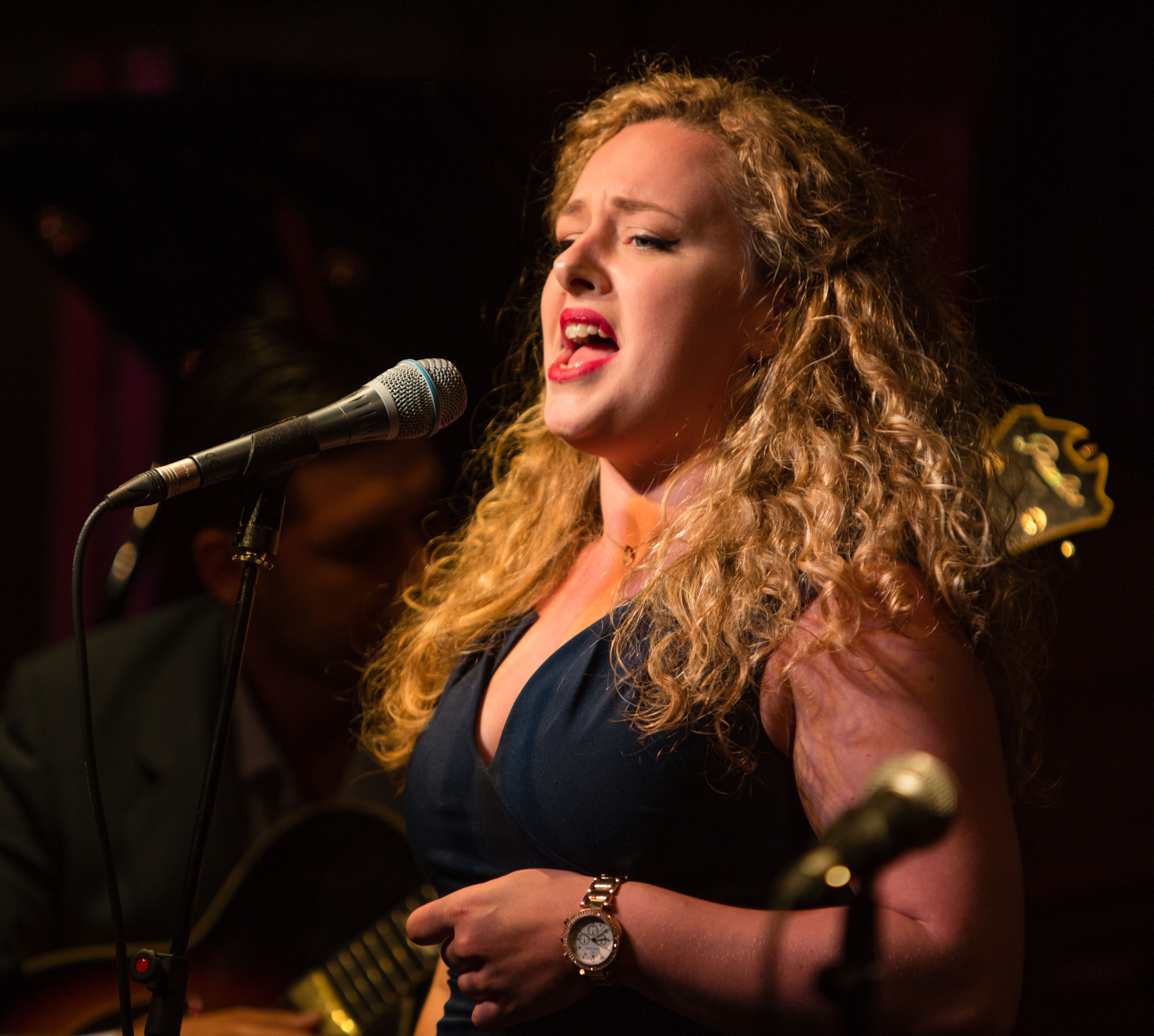 Louise Balkwill at 606 Club - Photography by Trevor Clifford
